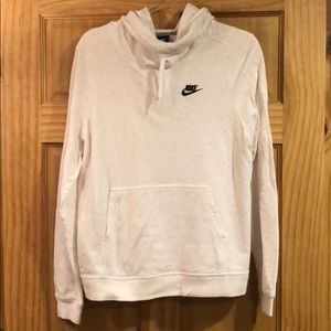 Nike cowl neck hoodie. Large. Like new!